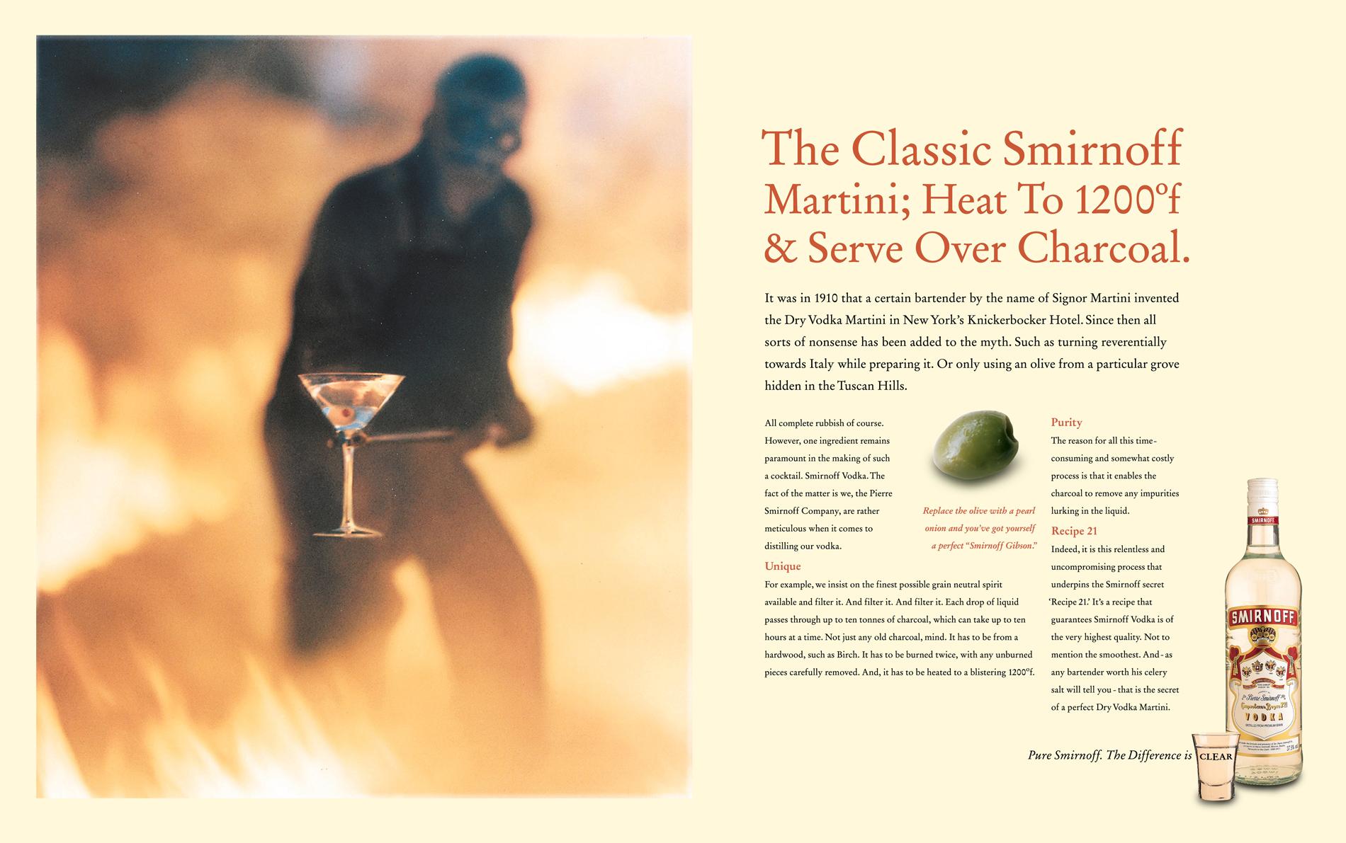 Smirnoff-Martini