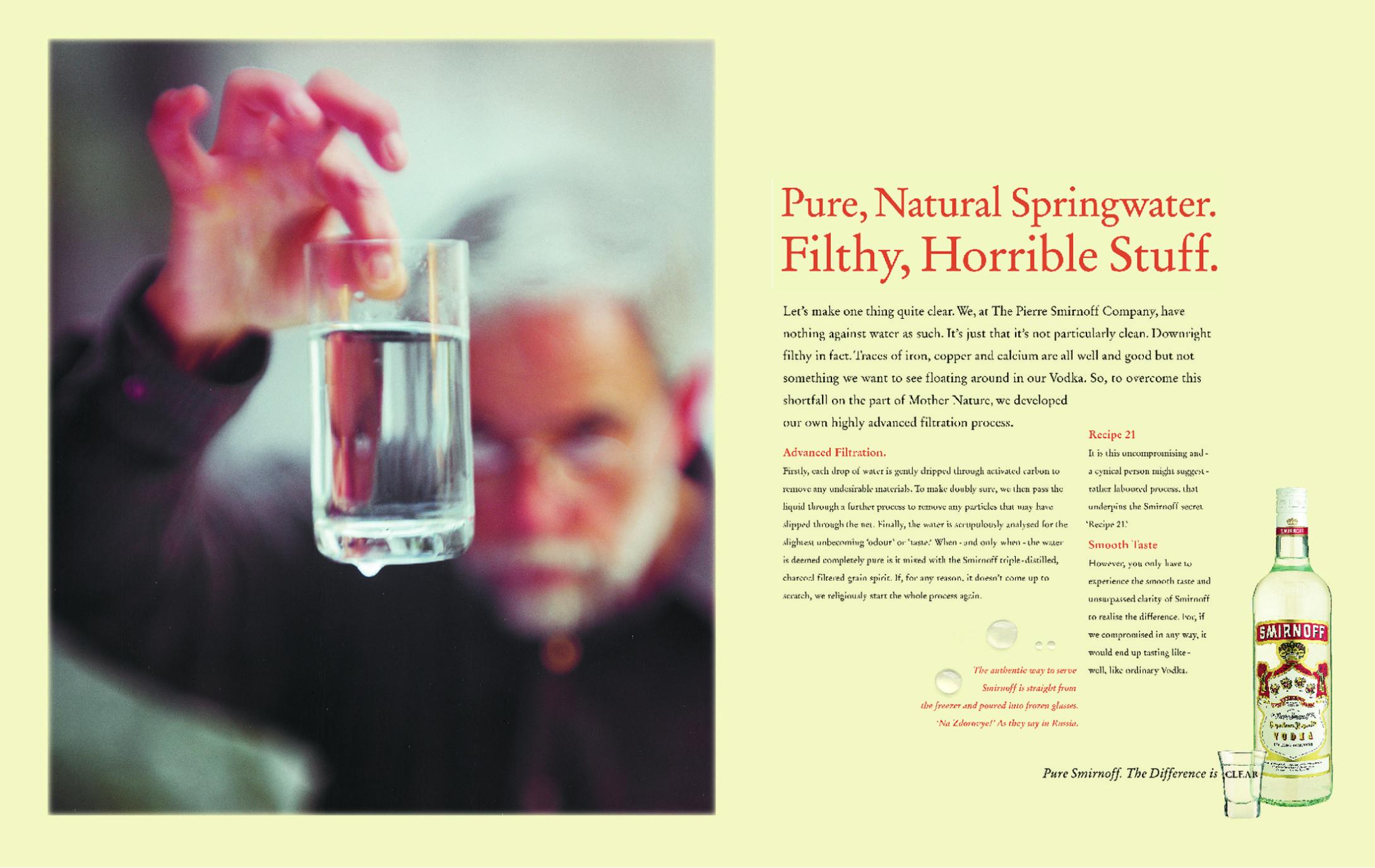 Smirnoff Springwater