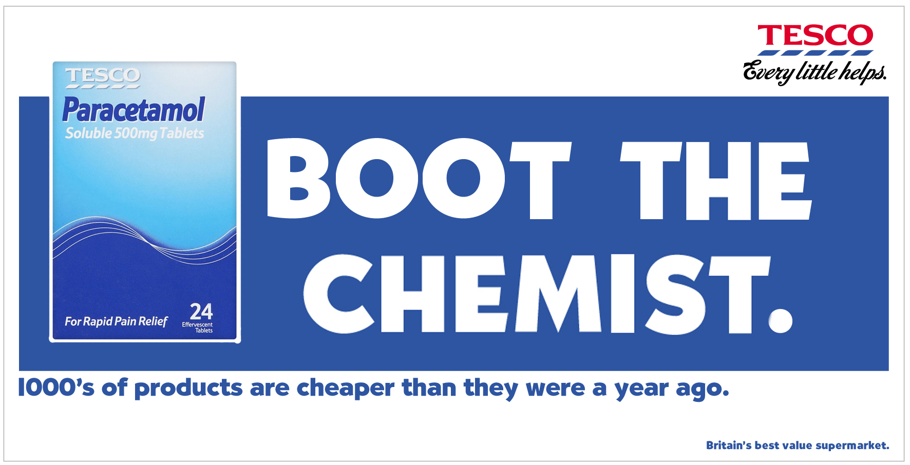 Tesco Boot the chemist